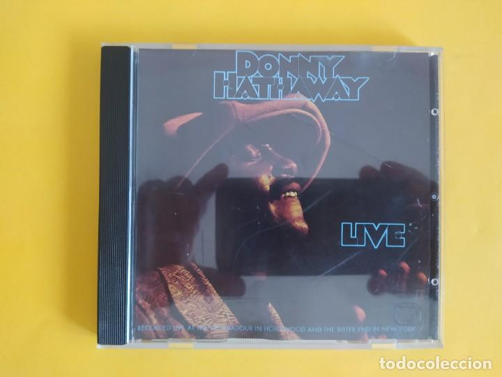 DONNY HATHAWAY - LIVE MUSICA CD (Música - CD's Jazz, Blues, Soul y Gospel)