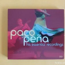 CDs de Música: PACO PEÑA - HIS ESSENTIAL RECORDINGS MUSICA DOBLE CD. Lote 222089120