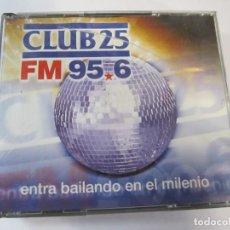 CDs de Música: 4 CD RADIO CLUB 25 FM 95,6 ENTRA BAILANDO EN EL MILENIO J.MªCASTELLS Y T.PERET. Lote 222100081