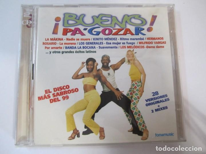 DOBLE CD BUENO PA GOZAR LOS HERMANOS ROSARIO LA MAKINA RONNY SOLER ETC.. (Música - CD's Latina)