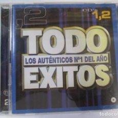 CDs de Música: DOBLE CD TODO EXITOS LOS AUTENTICOS Nº1 DEL AÑO BON JOVI ENRIQUE IGLESIAS BRITNEY SPEARS. Lote 222105000