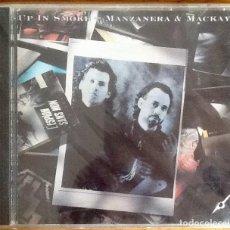 CDs de Música: PHIL MANZANERA & ANDY MACKAY (ROXY MUSIC) : UP IN SMOKE [USA 1989] CD. Lote 222110123
