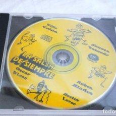 CDs de Música: CD LA SALSA DE SIEMPRE ,COMPILATION: WILLIE COLOR, SONORA PONCEÑA, RUBEN BLADES,OSCAR D'LEON, LAVOE. Lote 222118187