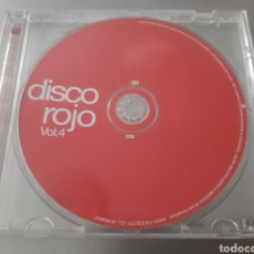 CDs de Música: DISCO ROJO. VOL 4. MXCD 1732(CS) CTV. Lote 222118200