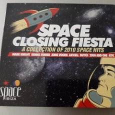 CDs de Música: SPACE CLOSING FIESTA. SPACE IBIZA. A COLLECTION OF 2010 SPACE HITS. DOBLE CD.. Lote 222118811