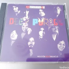 CDs de Música: DEEP PURPLE . WORDSANDMUSIC. INPROFILE. EMI. 1999. Lote 222129275