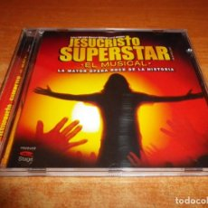 CDs de Música: JESUCRISTO SUPERSTAR EL MUSICAL BANDA SONORA CD 2007 MALU SERGIO RIVERO ENRIQUE SEQUERO PACO AROJO. Lote 222129835
