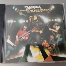 CDs de Música: WHITESNAKE. LIVE...IN THE HEART OF THE CITY. HOLAND. 1980. EMI.. Lote 222129957