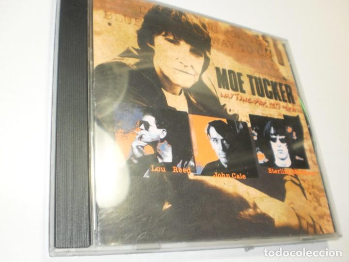 CD MOE TUCKER. WAITING FOR MY MEN. ROKALROLA RECORDS 1998 BELGIUM (SEMINUEVO) (Música - CD's Rock)
