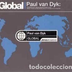 CDs de Música: PAUL VAN DYK - GLOBAL (CD, COMP, MIXED, DIG + DVD-V, P/MIXED, NTSC) LABEL:MUTE, MUTE CORPORATION CA. Lote 222145343