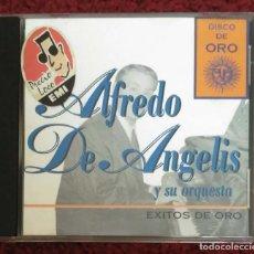 CDs de Música: ALFREDO DE ANGELIS Y SU ORQUESTA (DISCO DE ORO) CD 1995. Lote 222151418