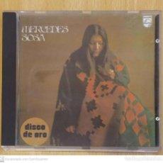 CDs de Música: MERCEDES SOSA (DISCO DE ORO) CD 1991. Lote 222152097