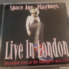 CDs de Música: SPACE AGE PLAYBOYS. LIVE IN LONDON. RECORDED LIVE AT THE GARAGE X-MAS. 1998.. Lote 222152470