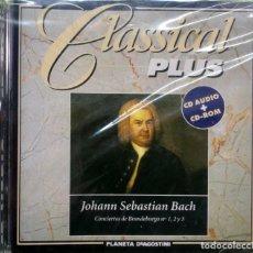 CDs de Música: CLASSICAL PLUS - BACH - PRECINTADO. Lote 222153462