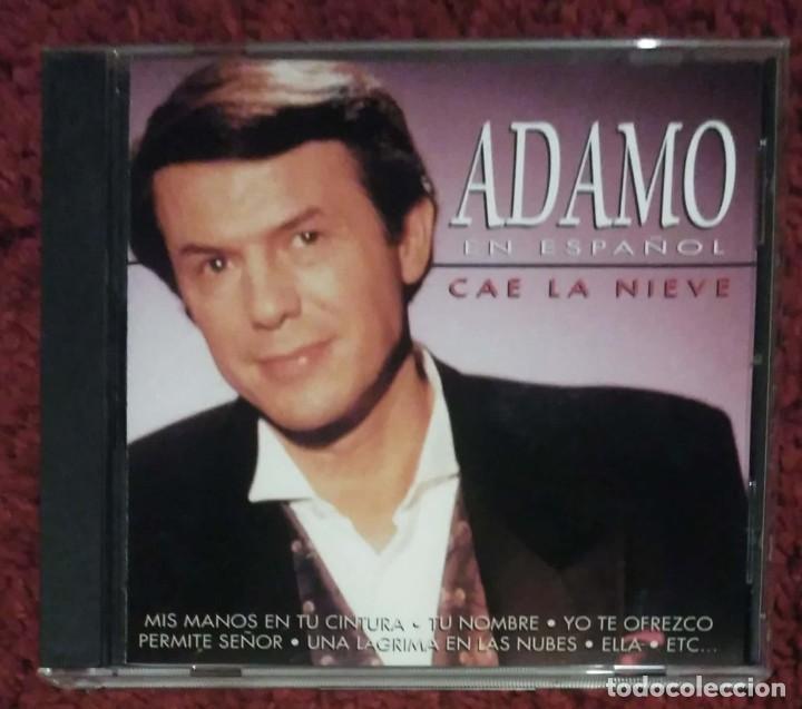 ADAMO (CAE LA NIEVE - EN ESPAÑOL) CD 1997 (Música - CD's Melódica )
