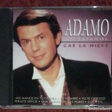 CDs de Música: ADAMO (CAE LA NIEVE - EN ESPAÑOL) CD 1997. Lote 222153733