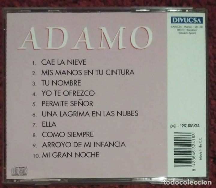 CDs de Música: ADAMO (CAE LA NIEVE - EN ESPAÑOL) CD 1997 - Foto 2 - 222153733