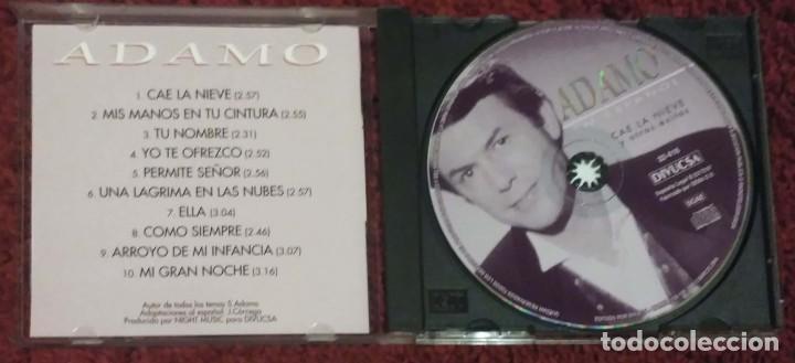 CDs de Música: ADAMO (CAE LA NIEVE - EN ESPAÑOL) CD 1997 - Foto 3 - 222153733