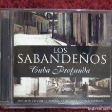 CDs de Música: LOS SABANDEÑOS (CUBA PROFUNDA) CD + DVD 2005. Lote 222153943