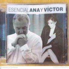 CDs de Música: ANA BELEN Y VICTOR MANUEL (ESENCIAL ANA Y VICTOR) 2 CD'S 2014. Lote 222154223