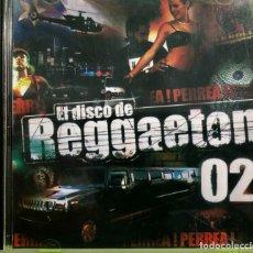 CDs de Música: VARIOUS - EL DISCO DE REGGAETON 02. Lote 222154476
