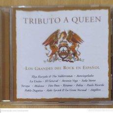 CDs de Música: TRIBUTO A QUEEN (LOS GRANDES DEL ROCK EN ESPAÑOL) CD 1997 LA UNION, MOLOTOV, FITO PAEZ, ANTONIO VEGA. Lote 222155272