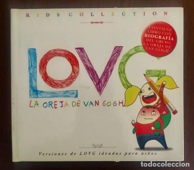 LA OREJA DE VAN GOGH - KIDS COLLECTION - DISCO LIBRO (Música - CD's Pop)