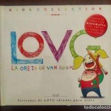 CDs de Música: LA OREJA DE VAN GOGH - KIDS COLLECTION - DISCO LIBRO. Lote 222157650