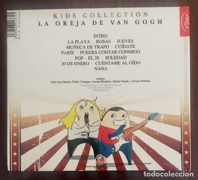 CDs de Música: LA OREJA DE VAN GOGH - KIDS COLLECTION - DISCO LIBRO - Foto 2 - 222157650