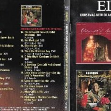 CDs de Música: ED AMES - CHRISTMAS WITH ED AMES / CHRISTMAS IS THE WARMEST TIME OF THE YEAR. Lote 222167483