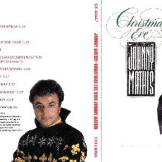 CDs de Música: JOHNNY MATHIS - CHRISTMAS EVE WITH JOHNNY MATHIS. Lote 222167593