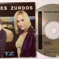 CDs de Música: TAHURES ZURDOS AURORA BELTRÁN CD PROMOCIONAL MAÑANA. Lote 222173958