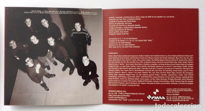 CDs de Música: KOMANDO MORILES 44 CD Tralla Records Ska - Foto 2 - 222177661