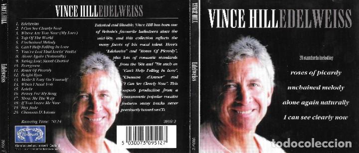 VINCE HILL - EDELWEISS (Música - CD's Melódica )