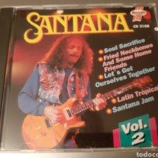 CDs de Música: MUY DIFICIL!!! SANTANA. VOLUMEN 2. RONDO HITLINE. 1992. CD 22108.. Lote 222183777