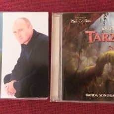 CDs de Música: TARZAN LOTE 2 CD DISNEY BANDA SONORA ESPAÑOL PHIL COLLINS GENESIS + CD SINGLE + 5€ ENVIO C.N. Lote 222190588