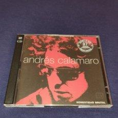 CDs de Música: ANDRÉS CALAMARO HONESTIDAD BRUTAL 2 CD. Lote 222202932