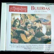 CDs de Música: CD FRANCIA 1996 - NIÑO RICARDO / ANTONIO MAIRENA / RAMÓN MONTOYA / SABICAS (BULERÍAS 1930-40). Lote 222226090