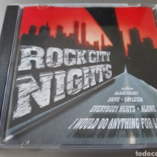 CDs de Música: ROCK CITY NIGHT. PEFORMED: INCLUYE; BLACK VELVET, DRIVE, ALONE, I WOULD DO ANYTHING FOR LOVE. Lote 222228790