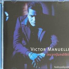 CDs de Música: CD VICTOR MANUELLE INCONFUNDIBLE ALBUM COMO NUEVO AQUITIENESLOQUEBUSCA ALMERIA. Lote 222229121