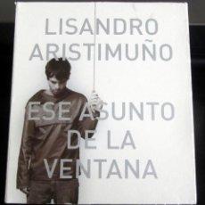 CDs de Música: CD ALISANDRO ARISTIMUÑO ESE ASUNTO DE LA VENTANA ARGENTINA 2005. Lote 222230692