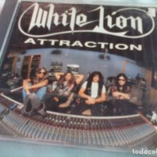 CDs de Música: CD. WHITE LION - ATTRACTION. Lote 222244491