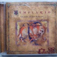CDs de Música: TEMPLARIO. LA RISA DE LAS BESTIAS. CD ANFECA MUSIC ANF030.2. ESPAÑA 2003.. Lote 222250171