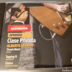 CDs de Música: RED HOT CHILLI PEPPERS. CALIFORNICATION. CLASE PRIVADA. ALBERTO CEREIJO. CD N- 36.. Lote 222253490