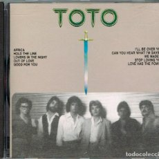 CDs de Música: TOTO, THE BEST OF TOTO, VER FOTOGRAFIA DEL DORSO PARA VER EL CONTENIDO. Lote 222270357
