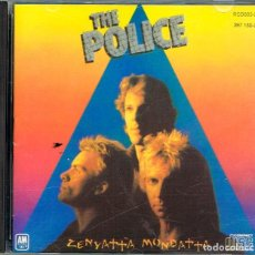 CDs de Música: THE POLICE, ZENYATTA MONDATTA, VER DORSO PARA VER EL CONTENIDO. Lote 222271111