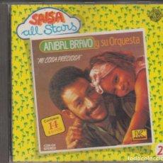 CDs de Música: ANÍBAL BRAVO Y SU ORQUESTA CD MI COSA PRECIOSA 14 ÉXITOS 1989 SPAIN. Lote 222277183