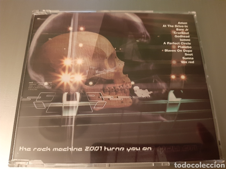 THE ROCK MACHINE 2001.METAL HAMMER. AMEN, PLACEBO, BARE J, SNOT, AT THE DRIVE-IN, CRACKOUT, SUNNA,,, (Música - CD's Heavy Metal)