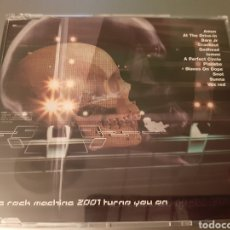 CDs de Música: THE ROCK MACHINE 2001.METAL HAMMER. AMEN, PLACEBO, BARE J, SNOT, AT THE DRIVE-IN, CRACKOUT, SUNNA,,,. Lote 222278463