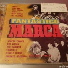 CDs de Música: DISCO FANTASTICO. MARCA. QUEEN, FREDIE MERCURY, ROXETTE, RAMONES, OASIS, TINA TURNER,,,. Lote 222279255